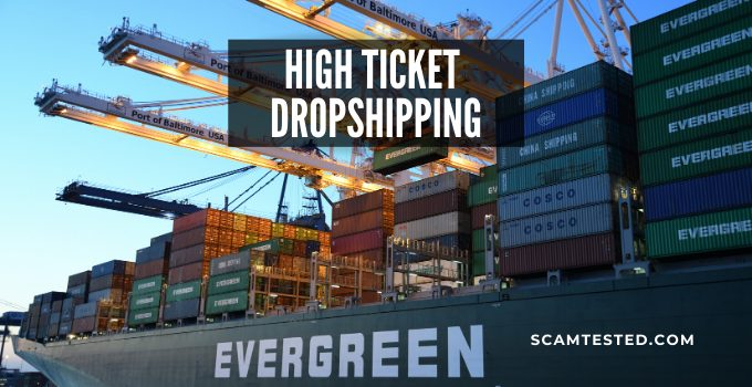 High Ticket Drop Shipping