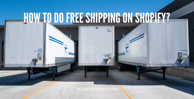 How to do free shipping on Shopify