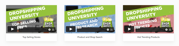 SHOPINSPECT DROPSHIPPING UNIVERSITY​